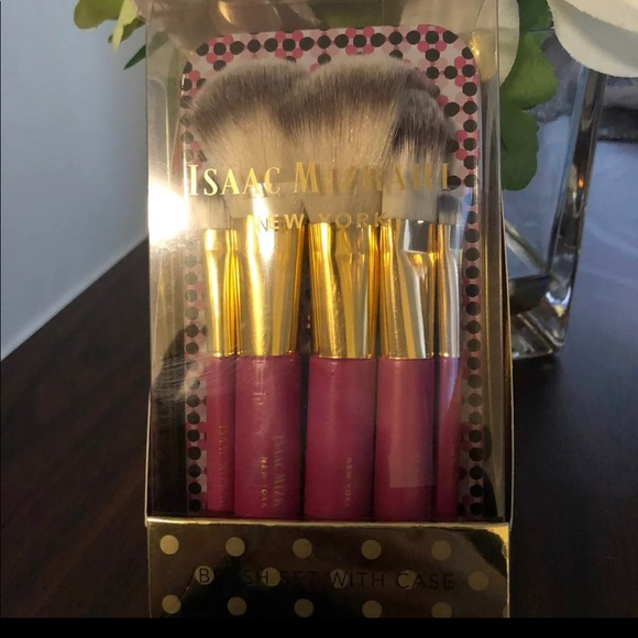 Issac Mizrhai 5 Piece Brush Set